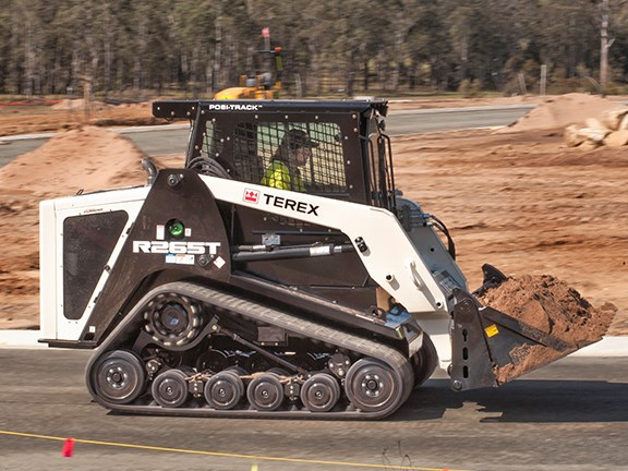 Terex R265T compact track loader