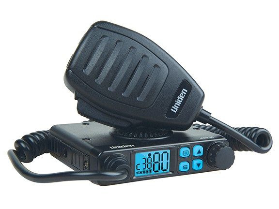 The Uniden UH8020S UHF CB mobile radio.