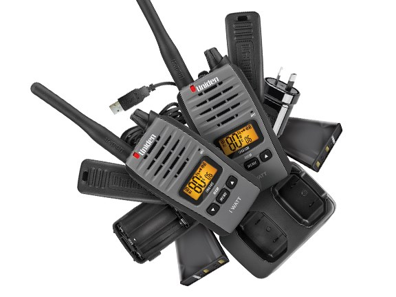 The Uniden UH810S UHF radio