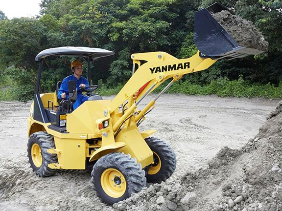 Yanmar V4-7 compact wheel loader