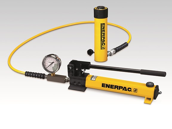 The Enerpac Porta Power kit provides hydraulic power where it's needed