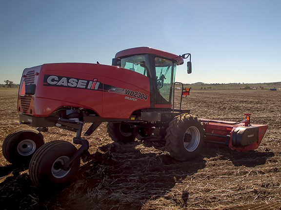 Case IH WD4 Series self-propelled windrower