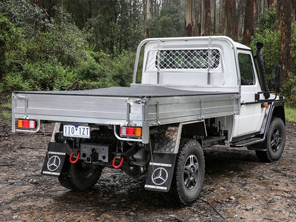 Mercedes Benz G-Professional ute