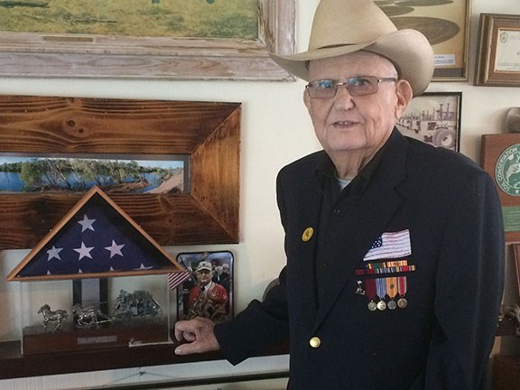 Jack Fletcher OAM at home in WA. Photo: Ron Horner