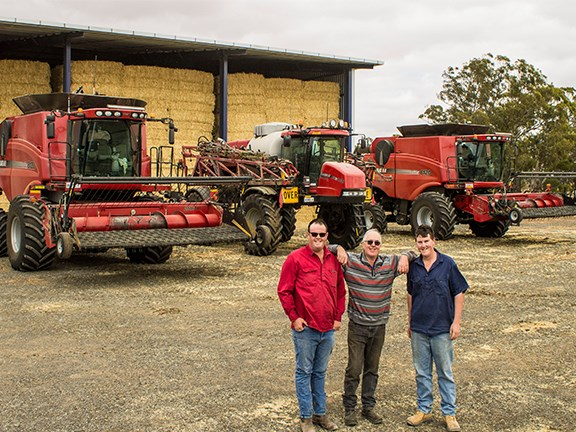 Manooka Farms Case IH fleet
