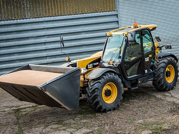 Cat D Series Ag Handler