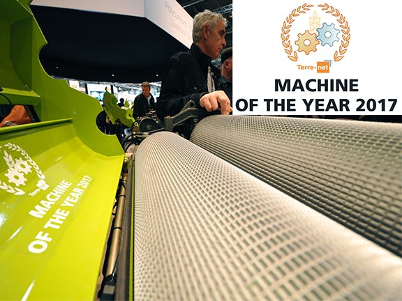 Claas Jaguar takes home Machine of the Year award at SIMA