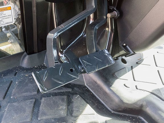 The branson 6225Ch tractor brake pedal