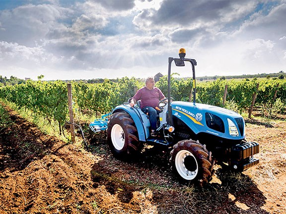 New Holland T3F compact tractor