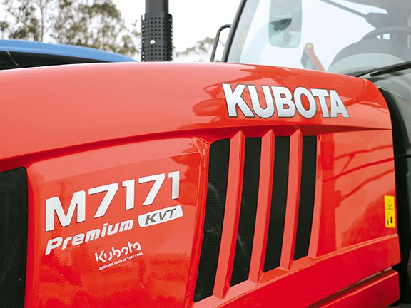 The M7-171 Premium KVT tractor is the new flagship model for Kubota