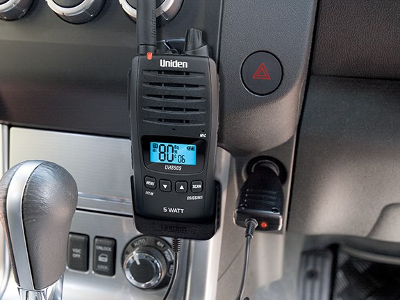 Uniden UH850S-DLX Titanium 2-way radio