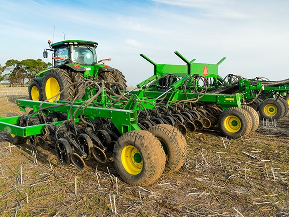 The John Deere 1890 No-Till Air Drill could well be the way of the future