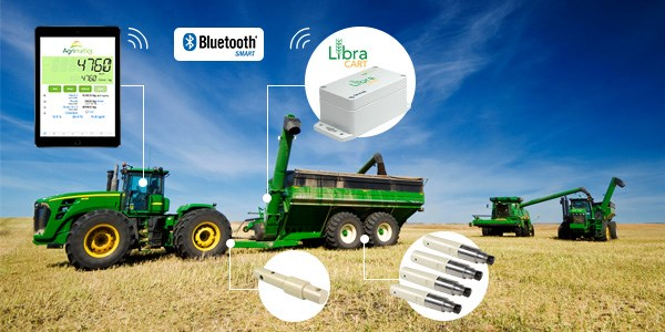 The Libra Cart app by Agrimatics takes the guesswork out of handling and tracking your grain
