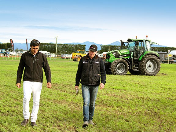 Tom Dickson speaks with Deutz-Fahr's Alistair Horrocks about the 6165 TTV