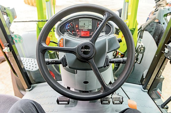 The Arion 440 steering wheel