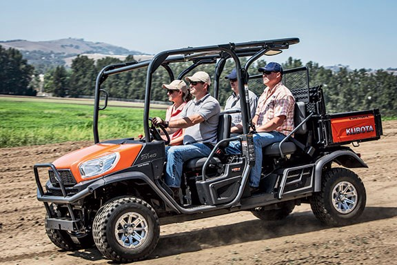 The Kubota X1140 as a four seater