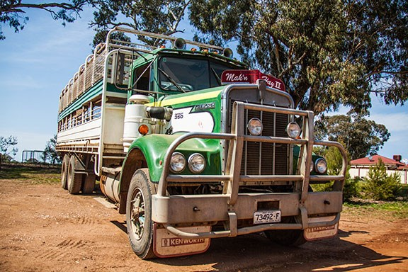 This 1982 S2 Kenworth motorvates with a Silver Series 692TTA Detroit
