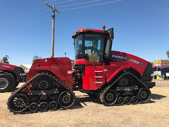 Case IH Steiger 500 Quadtrac at Wimmera Field Days