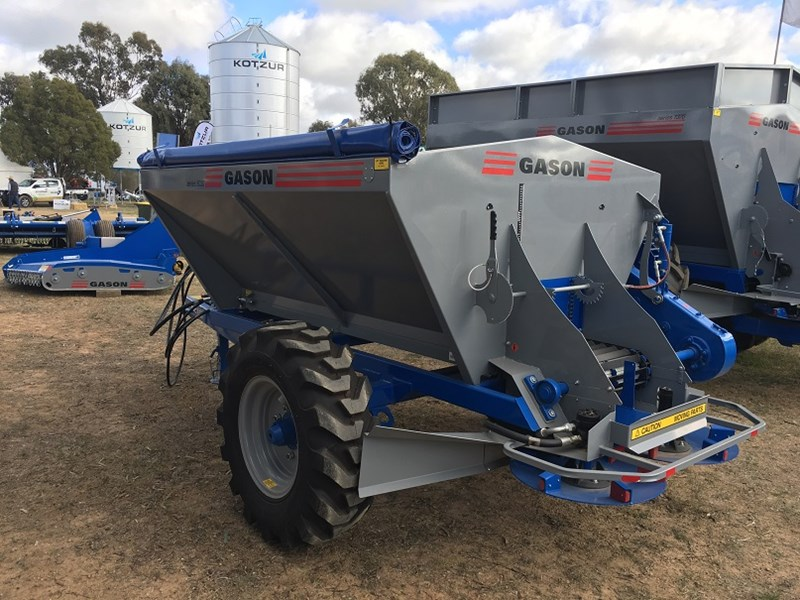 Gason 5030 Series fertiliser spreader