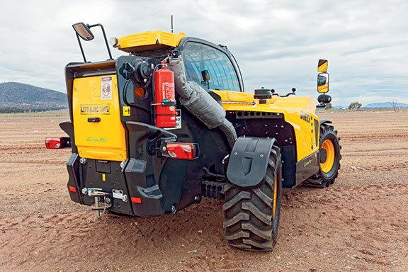 The Dieci Cotton Pro 70.10 has a 7-tonne lift capacity