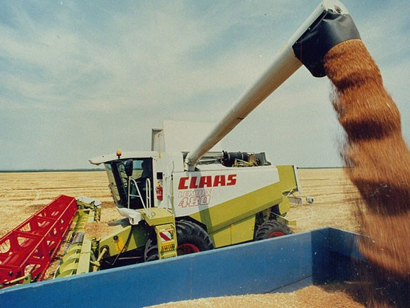 The start of it all: the 1995 Claas Lexion 480 combine harvester