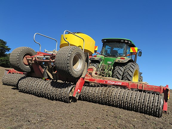 The 4AG Titan 6300 roller drill combines a quality build with outstanding features.