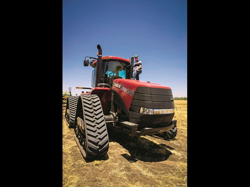 7037 Case IH Steiger Rowtrac 450 with Tom D