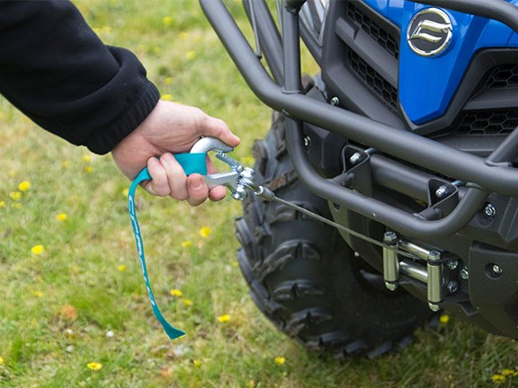 CFMoto X500 Farm Spec ATV with tow winch