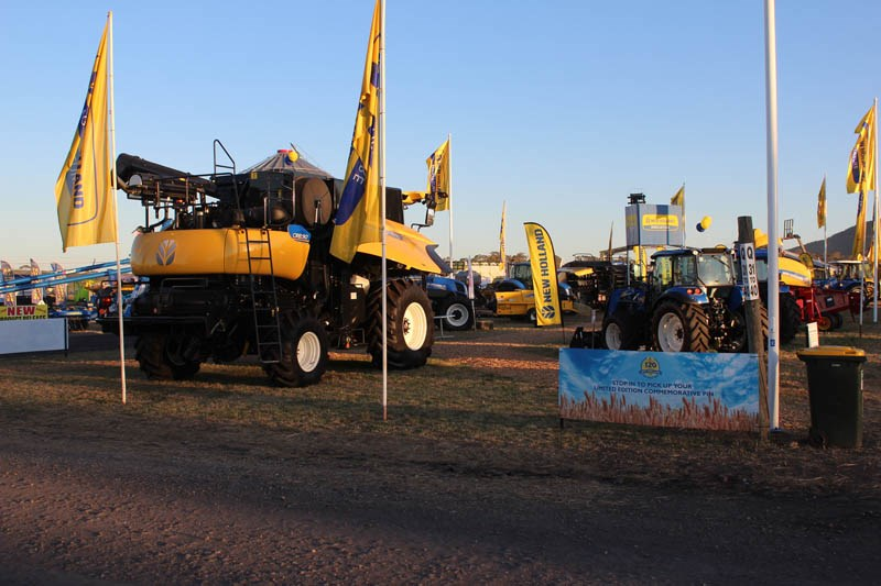 AgQuip 2015 New Holland stand