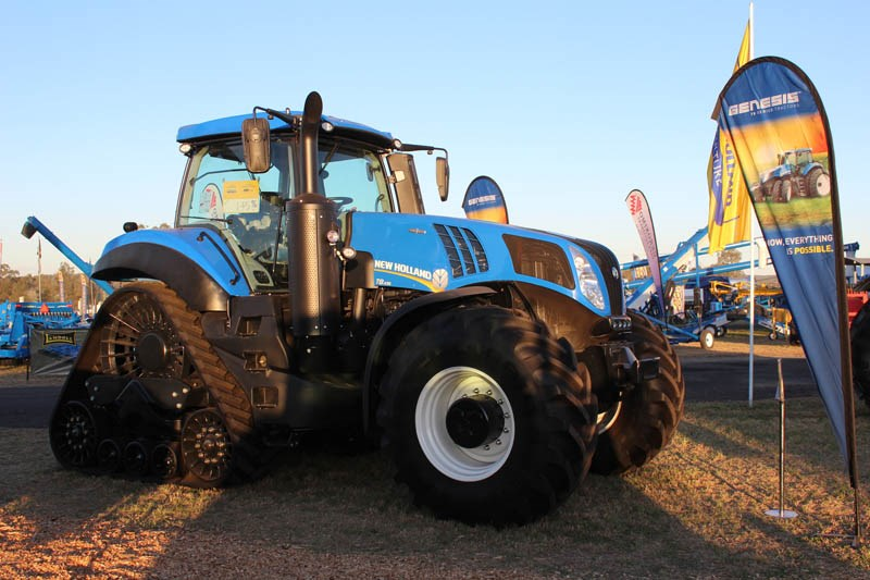 AgQuip 2015 New Holland tractor
