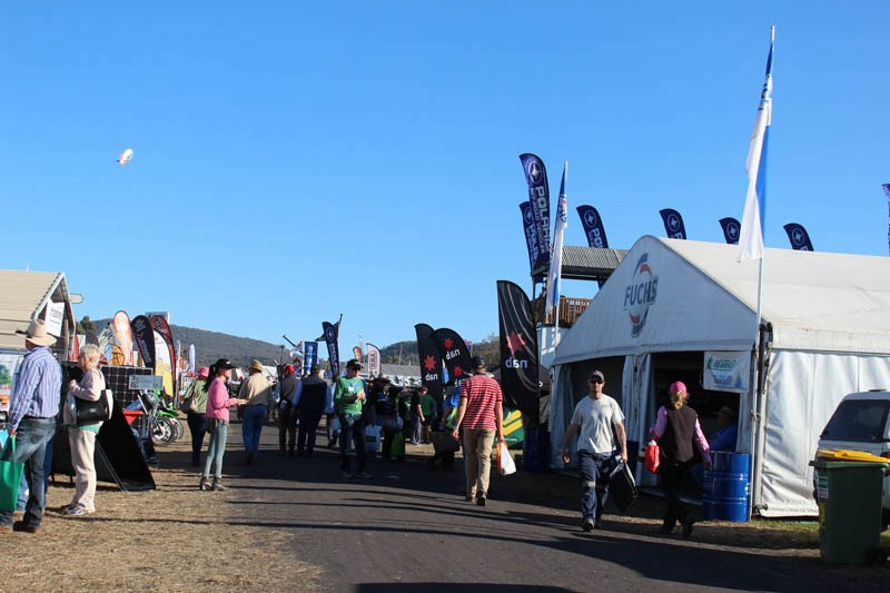AgQuip 2015 crowd