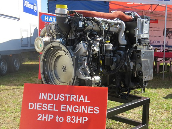 The 62kW 4H50 is the first water-cooled engine manufactured by German-owned company Hatz.