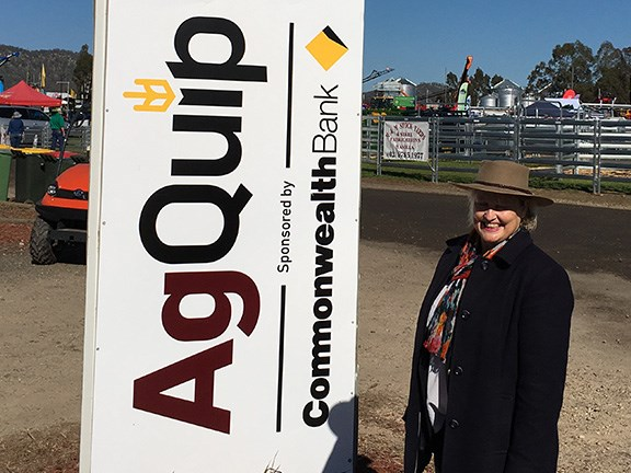 AgQuip Field Days event coordinator Kate Nugent.