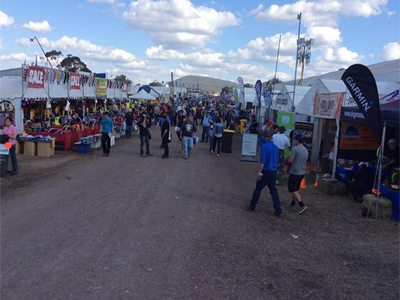 The crowd on the final afternoon of the 2015 Commonwealth Bank AgQuip event.