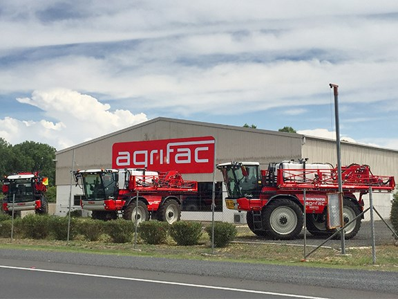 Farm machinery manufacturer Agrifac Australia has a new branch at Jondaryan in Queensland.