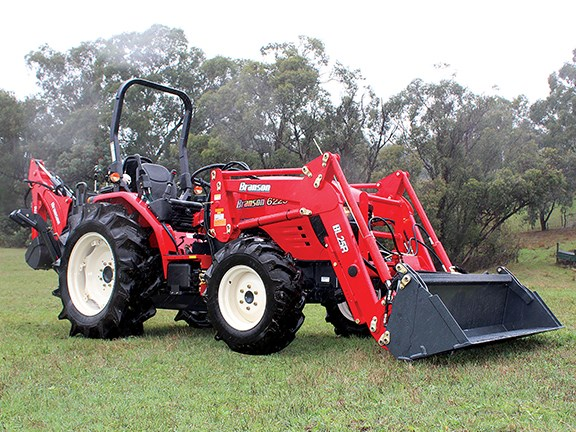 Korean tractor brand Branson has released its new 60hp 6225 tractor range.