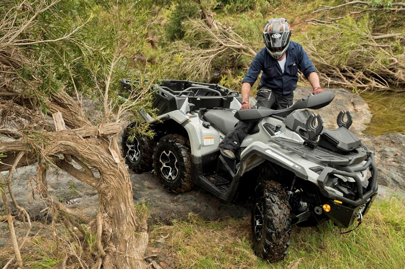 Can Am Outlander 650 XT 6x6 manuevrability 2