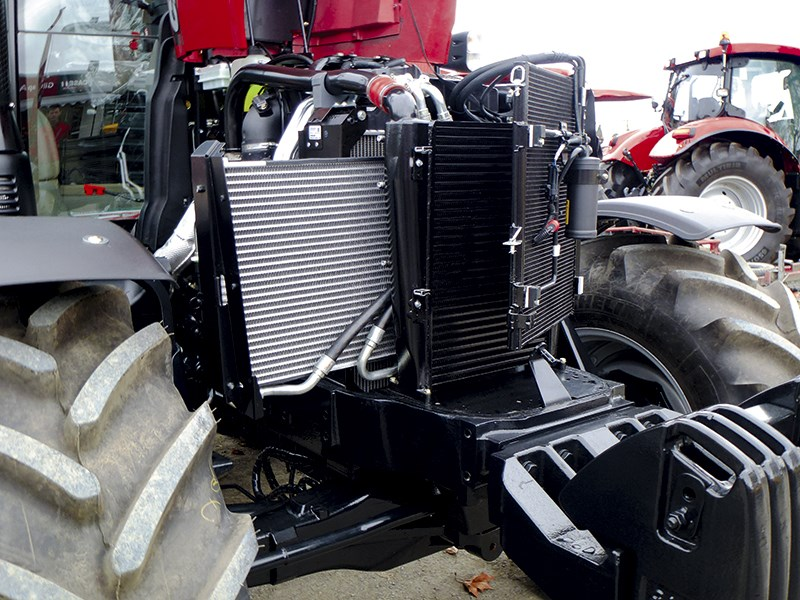 Case IH Maxxum 110 CVT cooling package 630