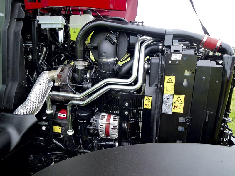 Case IH Maxxum 110 CVT engine 670