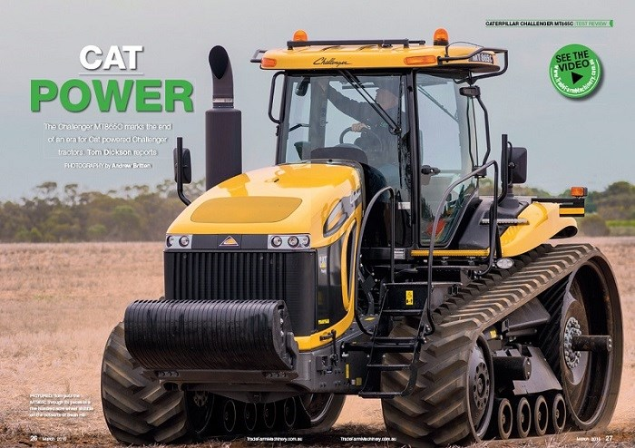 Cat Challenger tractor review