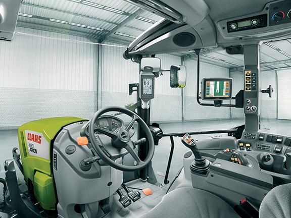 The upgrade allows for greater control over tractor functions from the cabin.