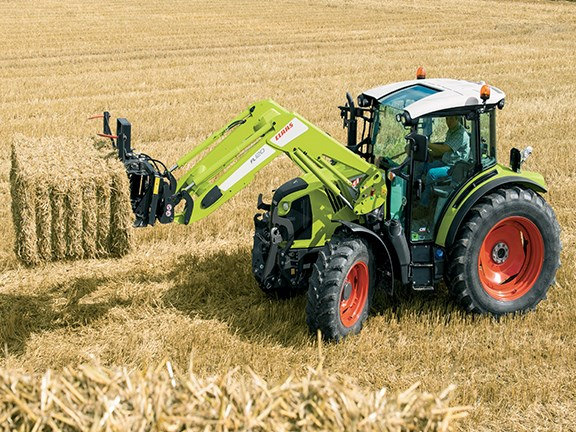 Claas Arion 400-Series tractors can now use Hexashift transmission and CSM headland management system.