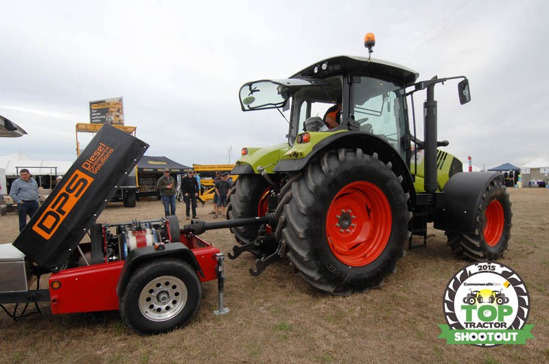Claas Arion 630 CIS dyno test
