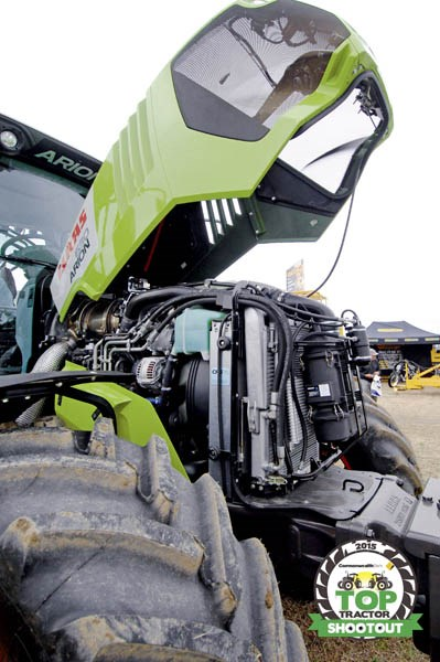 Claas Arion 630 CIS engine