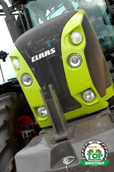 Claas Arion 630 CIS lights