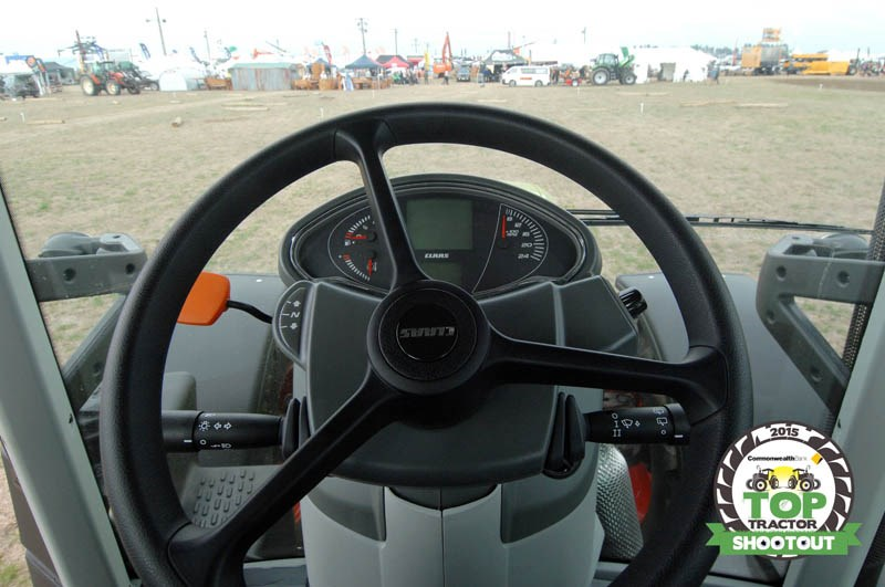 Claas Arion 630 CIS steering wheel