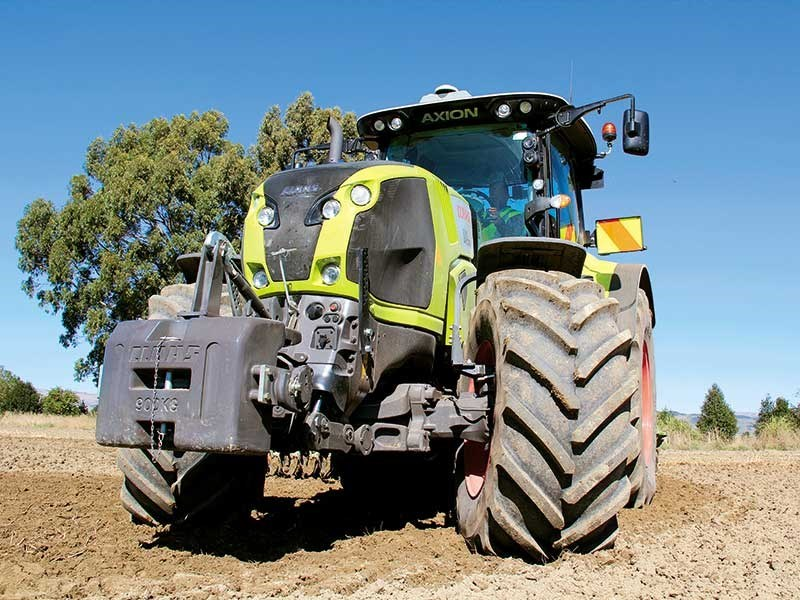 Claas Axion 830 1