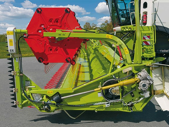 Claas Vario cutterbars will soon be available with an increased variable length.