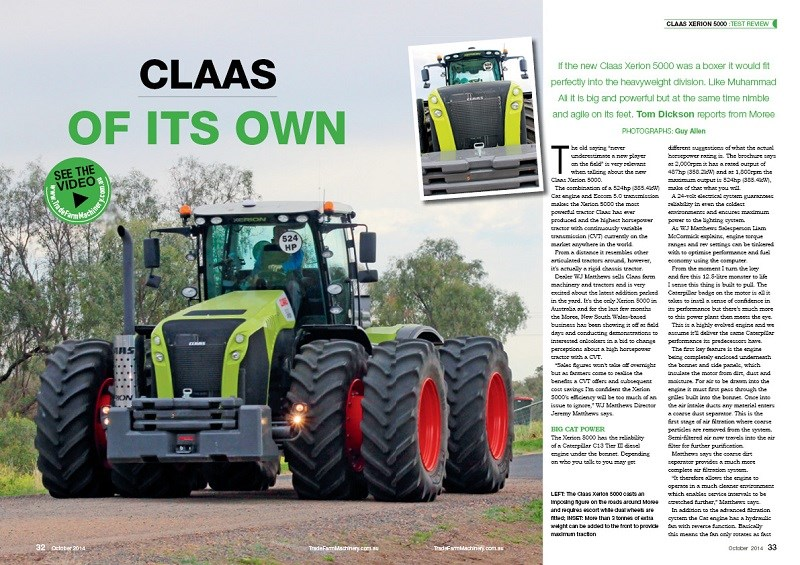 Claas Xerion 5000 review