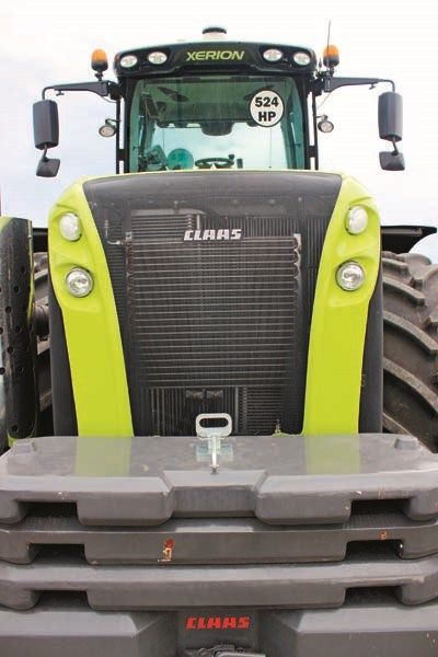 Claas Xerion 5000 front weight 9476